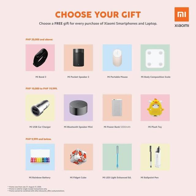 Xiaomi 10th Anniversary Sale - Gift