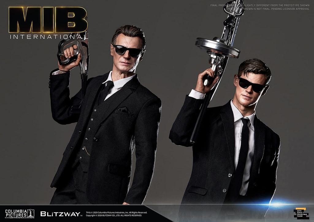 Blitzway《MIB星際戰警:跨國行動》T老大 1/6 比例人偶