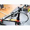 512-002 COSMOS FD-Z1 碳纖維(T700) 20吋9速油壓碟煞(10公斤)折疊車-鈦黑紅(SORA變速器)(飛輪11-32)(右折伸縮立管)(水滴座管)(車重不含腳踏板)