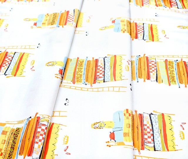 Windham Fabrics Heather Ross 20th Anniversary 39658A-6 Princess and the Pea