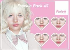 Pluie - Freckles Pack #1 @Girl Power