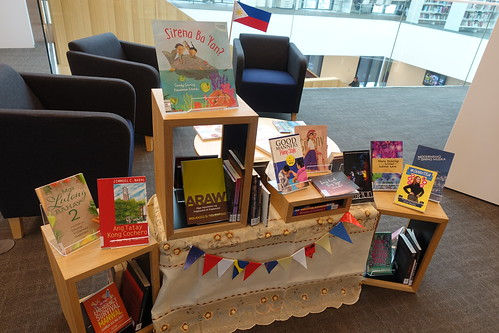 Philippines book display, Tūranga