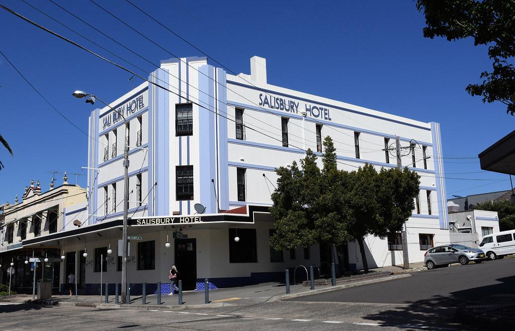 Salisbury Hotel, Stanmore, Sydney, NSW.