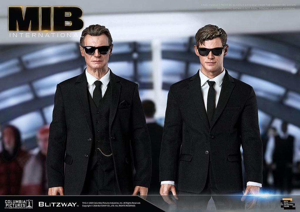 Blitzway《MIB星際戰警:跨國行動》H探員 1/6 比例人偶