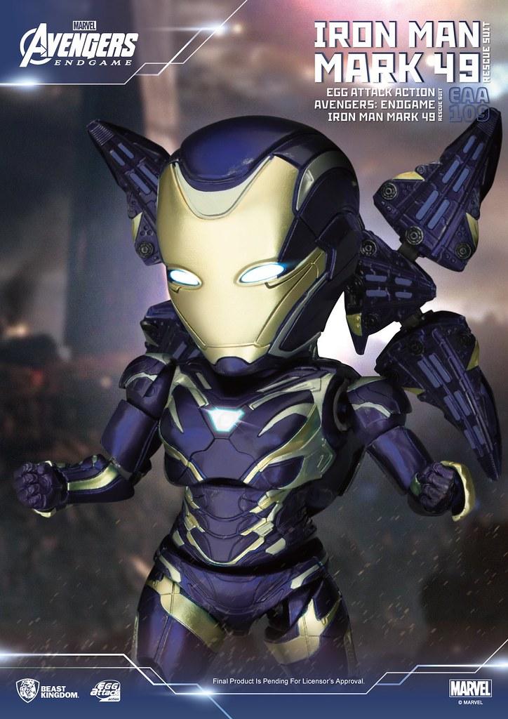 野獸國 EAA 系列《終局之戰》救援裝甲 再現小辣椒帥氣的爆地姿態!