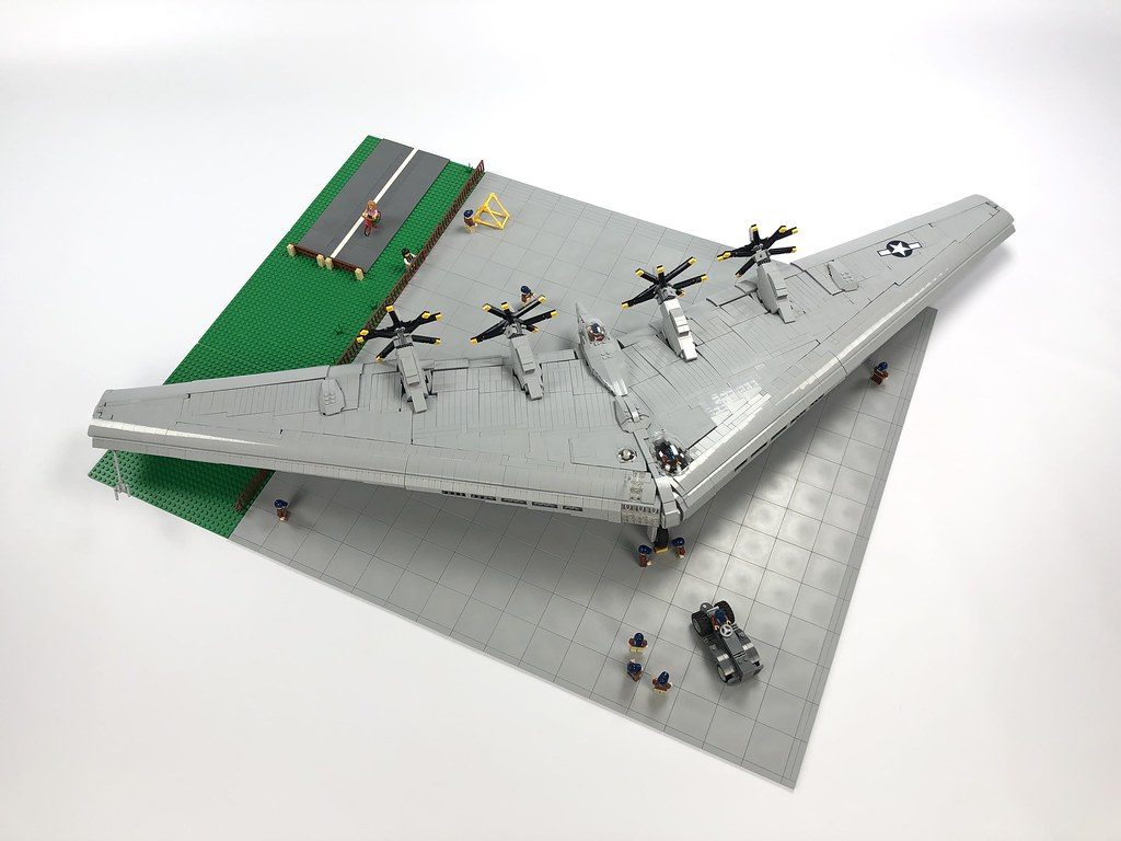 LEGO Northrop XB-35 Flying Wing MOC