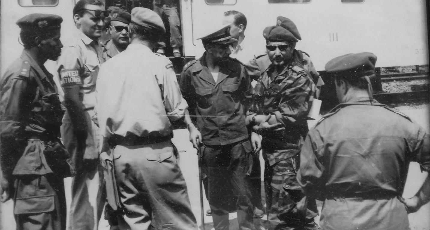 Les Forces Armées Royales au Congo - ONUC - 1960/61 50243189466_3c5acd0bf5_o_d