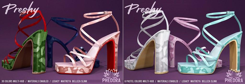 """Phedora. – """"Preshy"""" Heels available at Equal10 ♥"""
