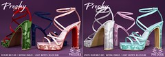 """Phedora. - """"Preshy"""" Heels available at Equal10 ♥"""