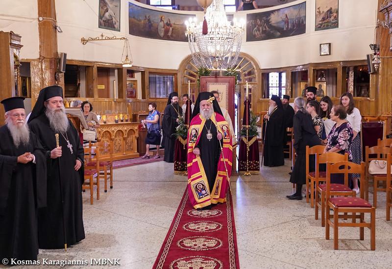 Πολυαρχιερατικό Συλλείτουργο για τον Πολιούχο της Ναούσης Όσιο Θεοφάνη τον θαυματουργό.