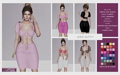 [WellMade] Jadie Outfit