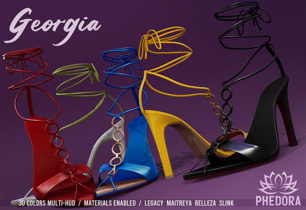 "Phedora. – ""Georgia"" Heels for ACCESS ♥"