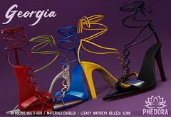 "Phedora. - ""Georgia"" Heels for ACCESS ♥"