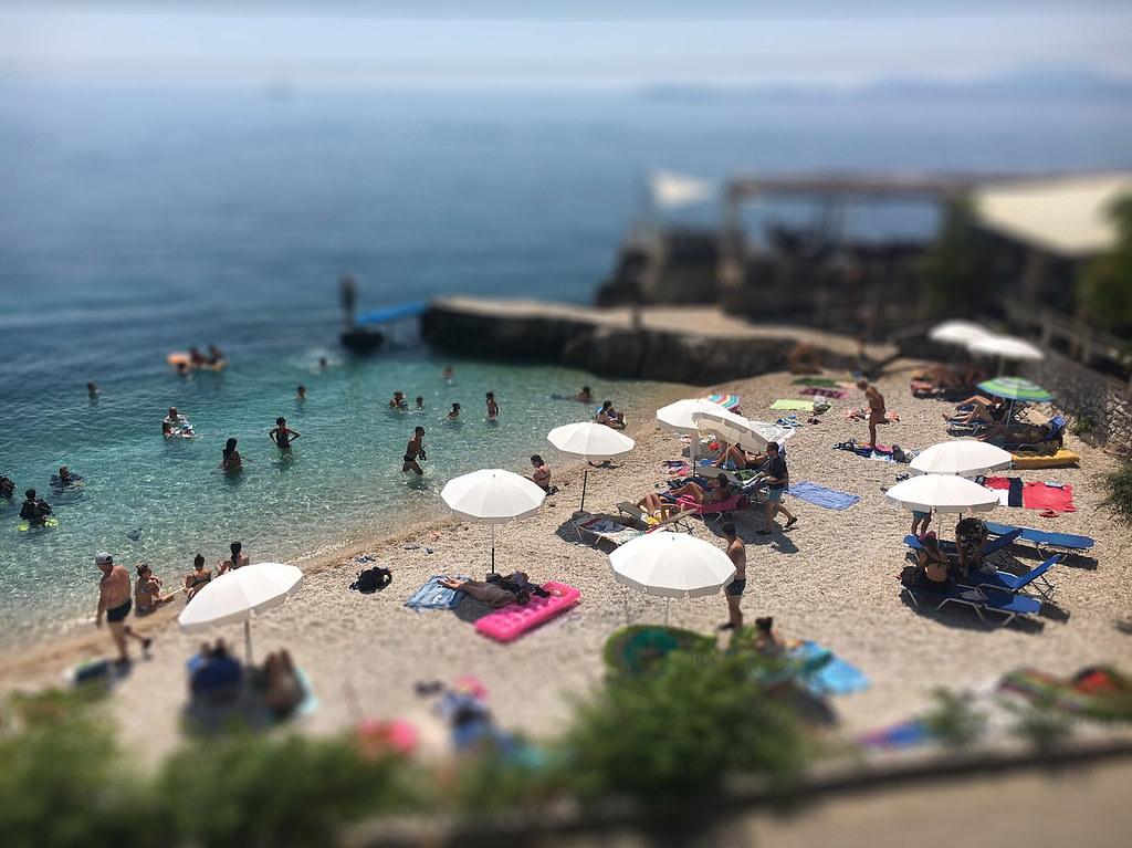 tiltshift Corfu