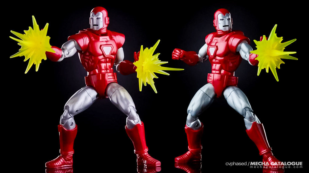 "Hasbro Debut! Marvel Legends Series Iron Man ""Silver Centurion"""