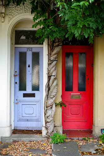 Front Doors, Swaton Street, Bow | by London Less Travelled