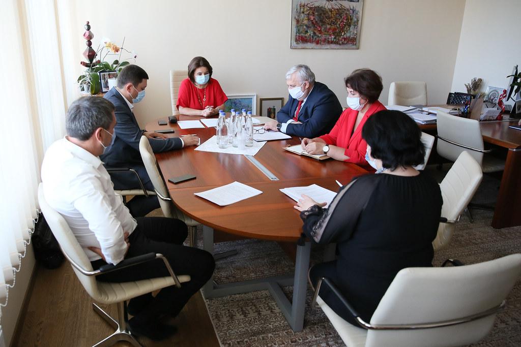 19.08.2020  Ședința grupului de lucru parlamentar privind începerea anului de studiu în sistemul național de educație în condiții de pandemie