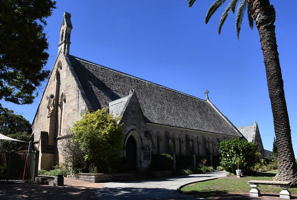 St Mary Anglican Church, Bondi Junction, Sydney, NSW.