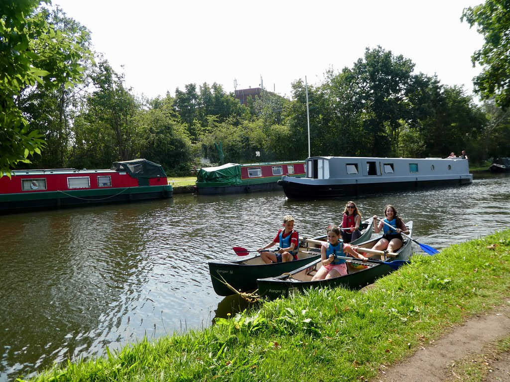 Boating on the Bridgewater Canal