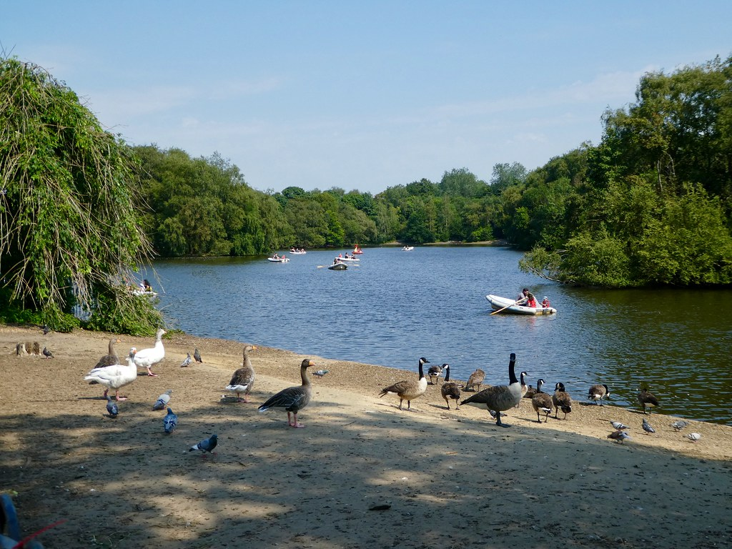 Heaton Park Boating Lake