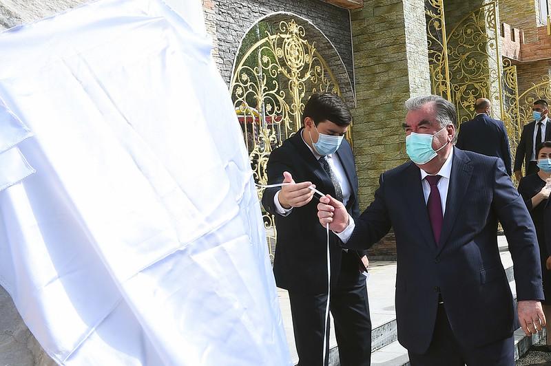 Ифтитоҳи Боғи фарҳангӣ-фароғатӣ дар ноҳияи Дарвоз 19.08.2020