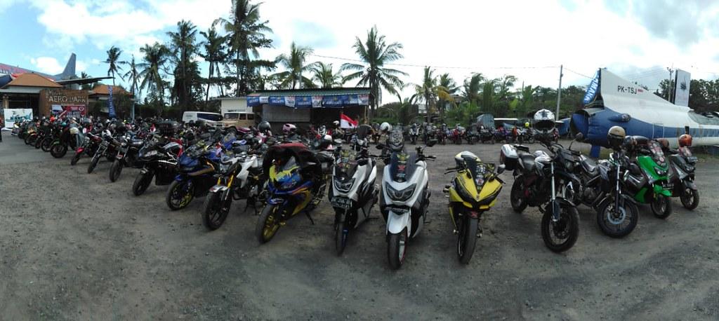 Touring Merdeka YRFI Bali Peduli Penyu