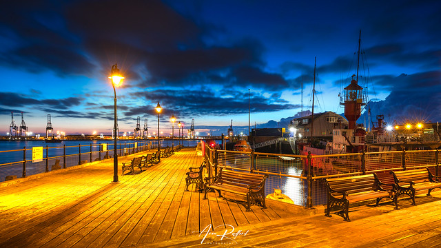 Halfpenny Pier Blue Hour