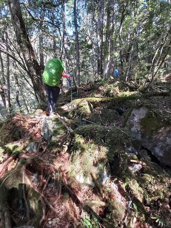 Smangus- an easy trail turns into a tough one