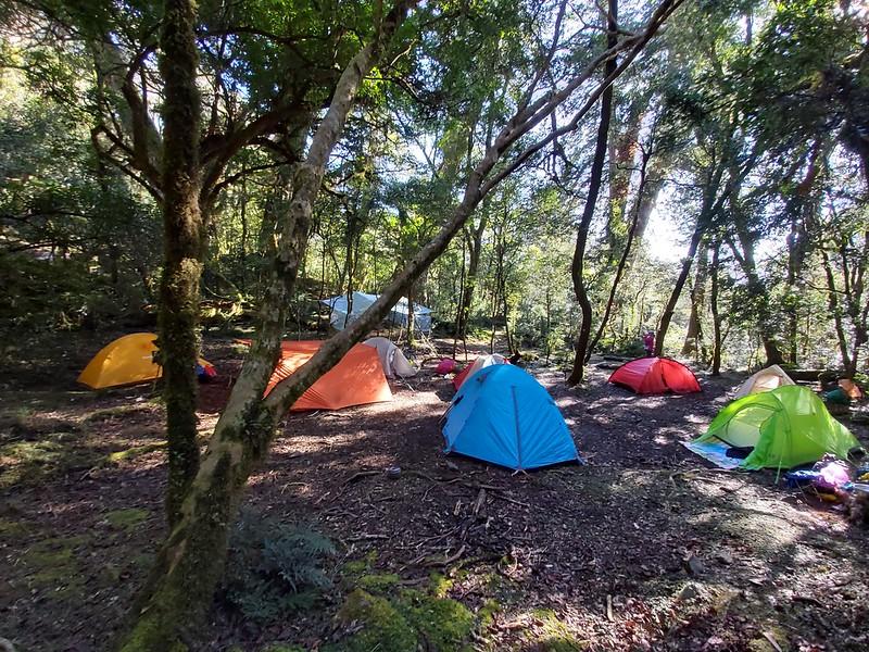 Smangus- Xuebai campsite