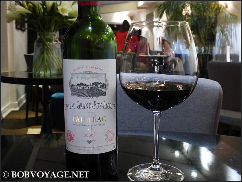 Chateau Grand Puy Lacoste Pauillac 2000 ששתינו ב-אסתר (Ester)