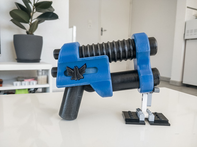 LEGO Two Barrel Pistol