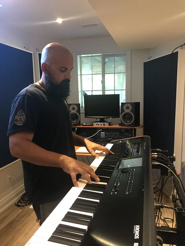 Geared Up: Pyramid Theorem's Stephan Di Mambro Discusses His Korg Kronos Keyboard Station