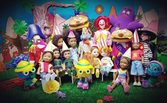 Mcdonaldland Birthday Party
