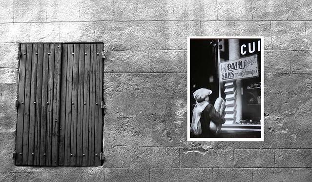 France, Avignon - Shutter & Poster (164) B&W