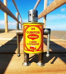 Robots on vacation