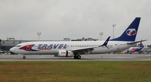 Smartwings, OK-TVT, MSN 39394, Boeing 737-86N, 03.08.2020, GDN-EPGD, Gdańsk