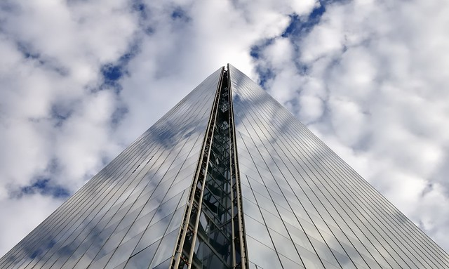 Shard, Renzo Piano, 2012, Southwark, London SE1.
