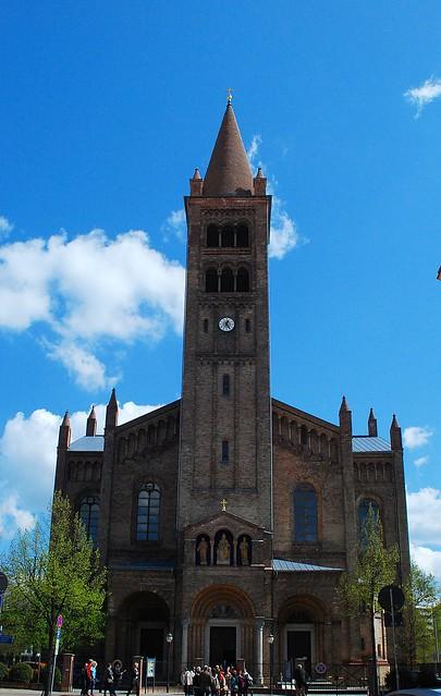 Postdam (Alemania). Iglesia de S.Pedro y S.Pablo.