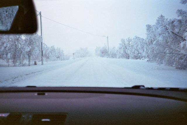 Arctic Winter Roads