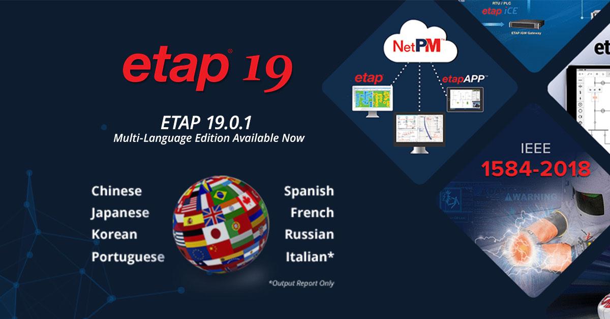 ETAP 19.0.1 x64 full