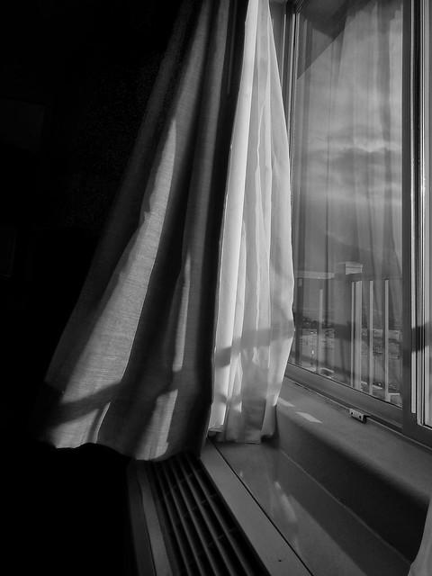 Window at Sunset