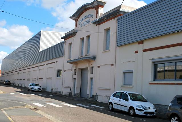 Saint-Vallier (71) : la manufacture Gerbe