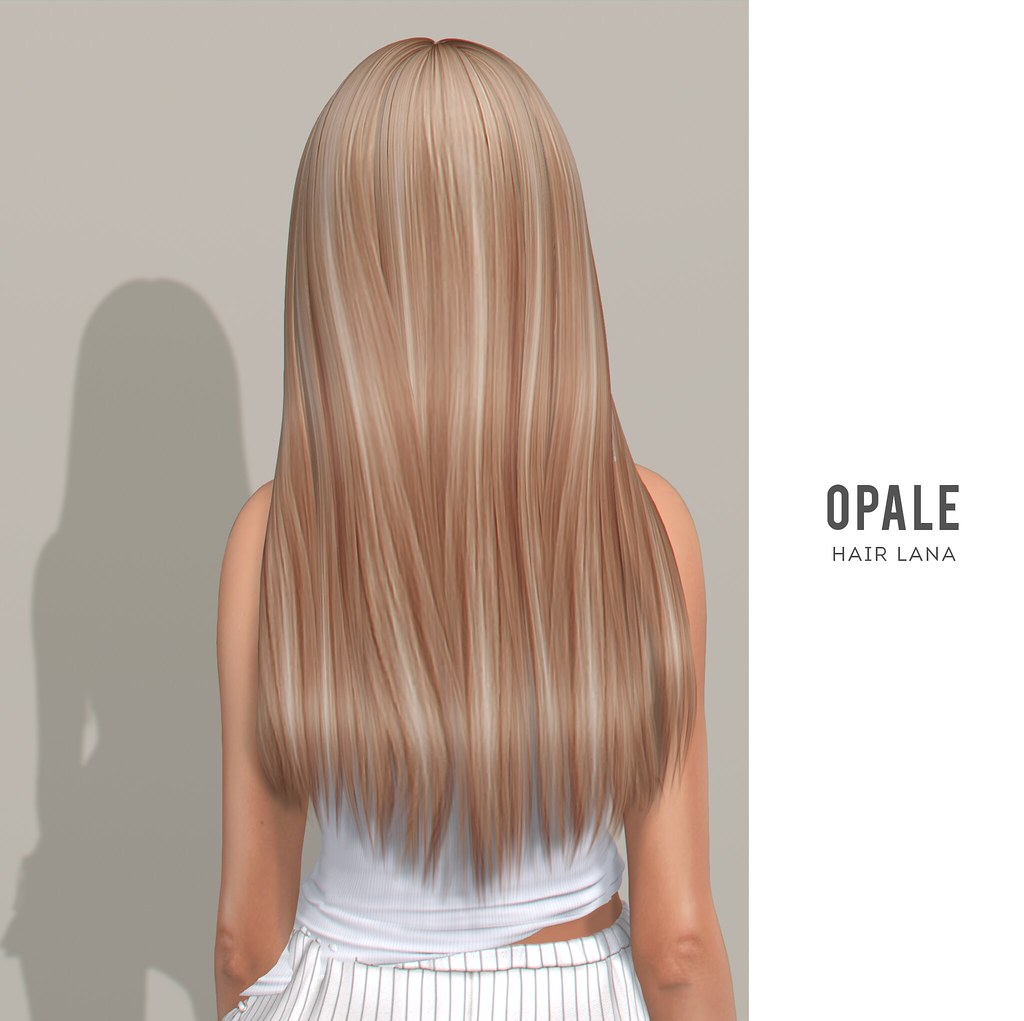 OPALE .  Lana Hair x Tres Chic August 2020