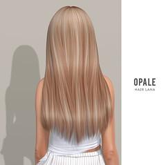 OPALE .  Lana Hair x Tres Chic August 2020