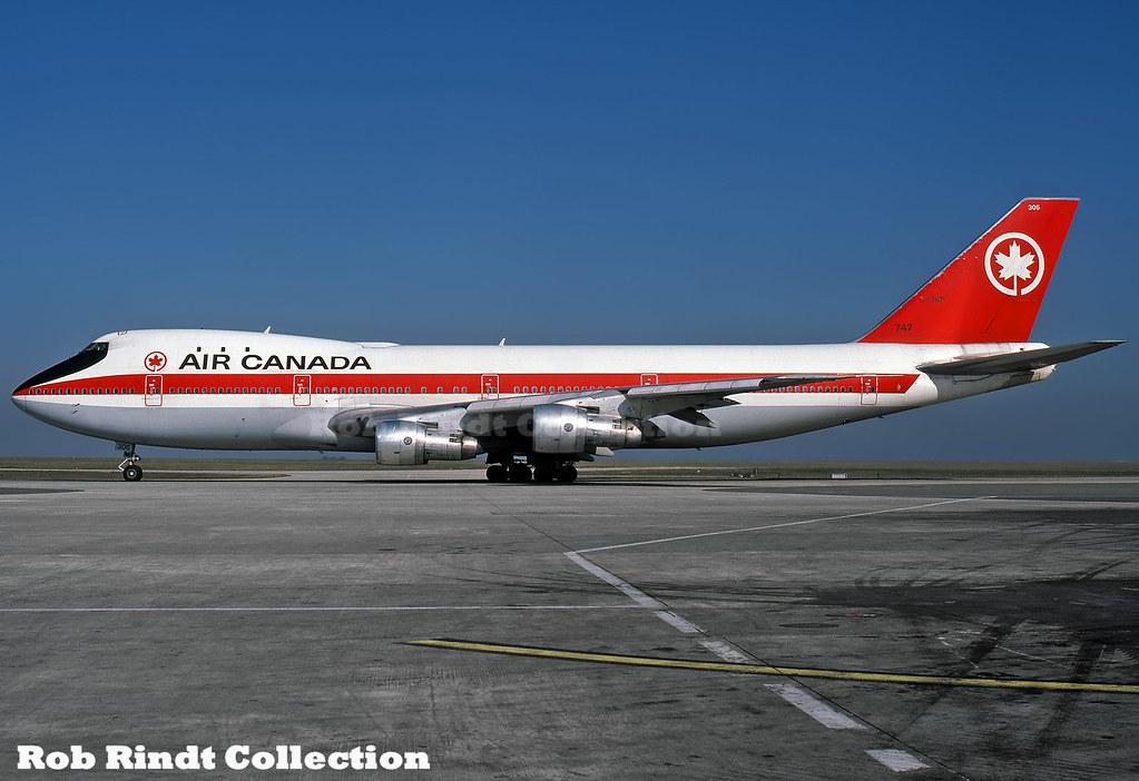 Air Canada B747-133 C-FTOE