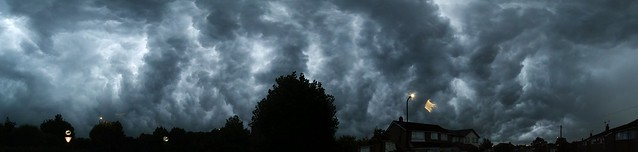 Harrogate storm - whale's mouth panorama
