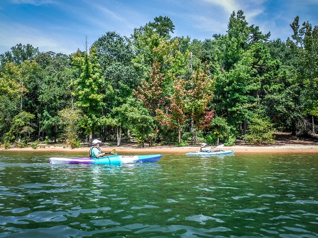 Ghost Island in Lake Hartwell
