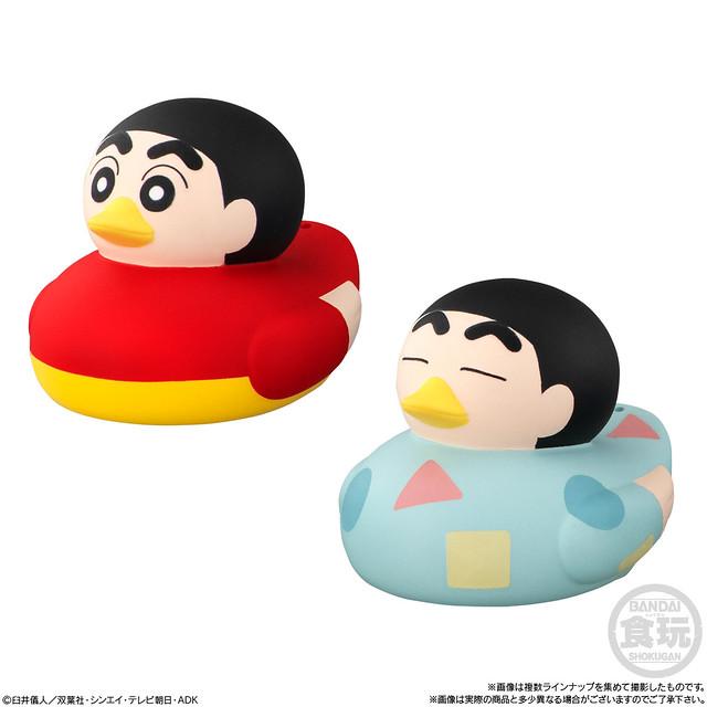 AHILOOOK!《蠟筆小新》洗澡小鴨食玩登場~讓可愛爆笑的小新鴨鴨陪你洗香香