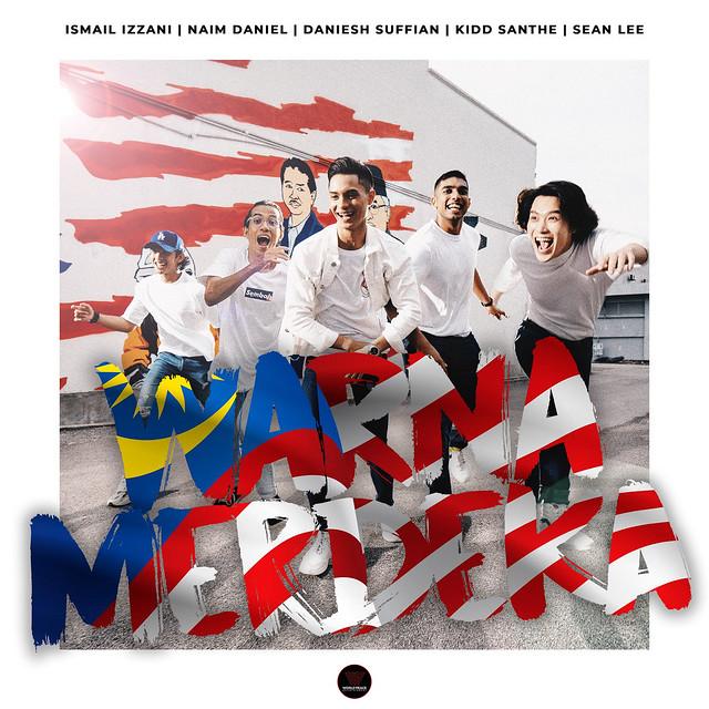 Lima Selebriti Bergabung Jayakan Lagu Patriotik Berjudul WARNA MERDEKA