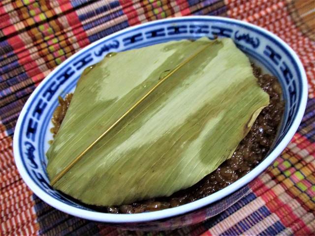 Lo mai kai, bamboo leaf